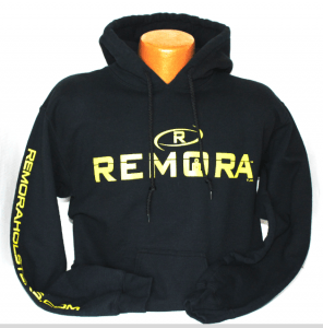 Remora hooded sweatshirt black