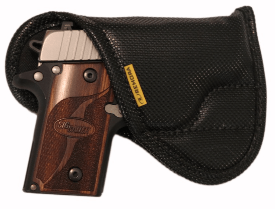 IWB with sweat shield modification